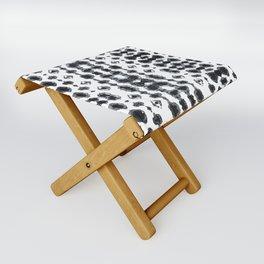 Shibori Ikat Habotoi BW Folding Stool
