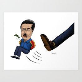 Fin del chavismo. Art Print