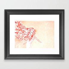 Spin Fire Framed Art Print