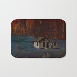 The Surface of Solitude-Hardship Bath Mat