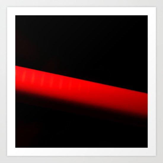 RED PEN Art Print