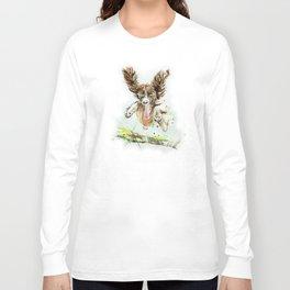 Springing Spaniel Long Sleeve T-shirt