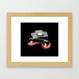 Art Of Conversation Framed Art Print