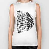 budapest hotel Biker Tanks featuring Hotel Merriot Budapest. Deconstruction by Villaraco