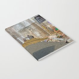 CONSTRUCTION SITE POKHARA NEPAL Notebook