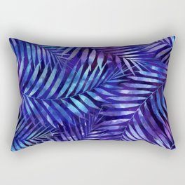 Violet jungle vibes Rectangular Pillow