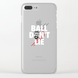 Ball Don't Lie Clear iPhone Case