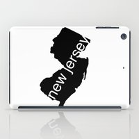 new jersey iPad Cases featuring New Jersey by Isabel Moreno-Garcia