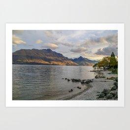 Lakeside View Art Print