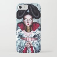 bjork iPhone & iPod Cases featuring BJORK by Denda Reloaded