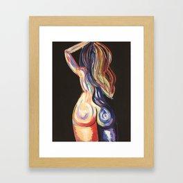 Color Me Bad No. 1 Framed Art Print