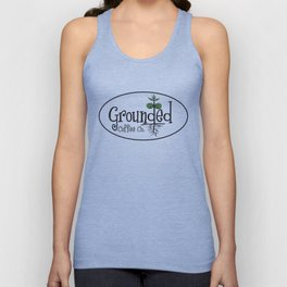 GROUNDED COFFEE Unisex Tank Top