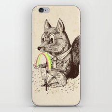 Strange Fox iPhone & iPod Skin
