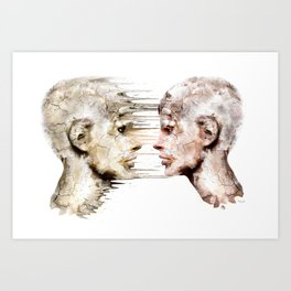 Love is all ! Art Print