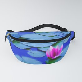Water lilies in a pond Fanny Pack