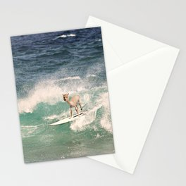 NEVER STOP EXPLORING - SURFING HAWAII Stationery Cards