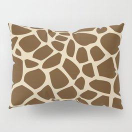 Giraffe Print Pattern Pillow Sham