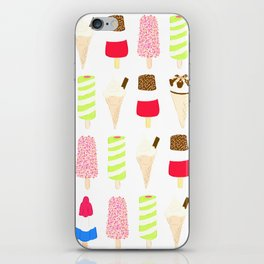 Classic Summer Ice-Creams iPhone Skin