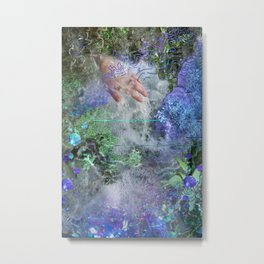 swimming in other worlds Metal Print