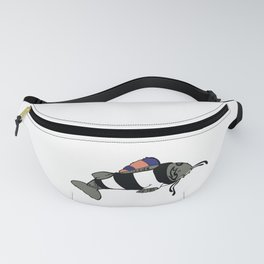 Punk Catfish Fanny Pack