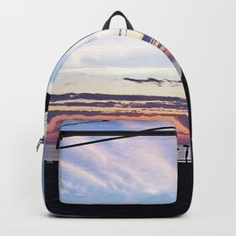 Matane Lighthouse at Sunset Backpack