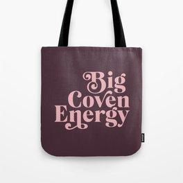 Big Coven Energy Plum Tote Bag