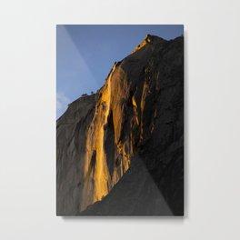 Yosemite Firefall 2016 Portrait  Metal Print