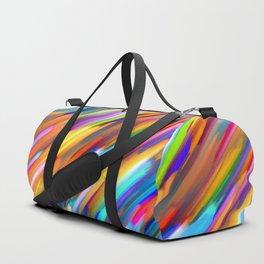Colorful digital art splashing G391 Duffle Bag