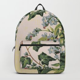 Flower composition Backpack