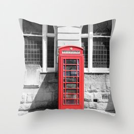 Classic Britain Throw Pillow