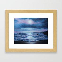 Breaking Waves, Coumeenole Beach, Dingle Peninsula Framed Art Print
