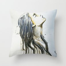 sueño de tinta y papel Throw Pillow