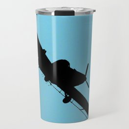 Crop Duster Silhouette Travel Mug