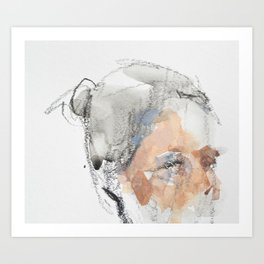 MD Portrait (Crop) Art Print