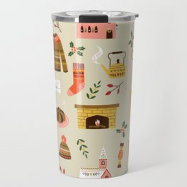 winter hygge Travel Mug