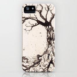 Solum II /// Tree Studies iPhone Case