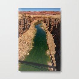 Colorado_River, Marble_Canyon-4, Arizona Metal Print