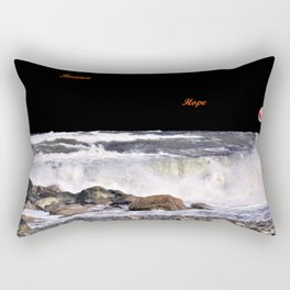Bounce and Hope Rectangular Pillow