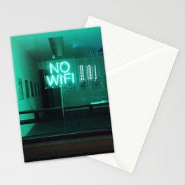 No Wifi Stationery Cards