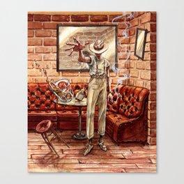 Hurry Home Canvas Print