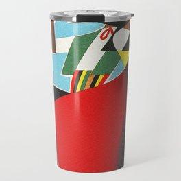 Vintage Sorrento Italy Travel Poster Travel Mug