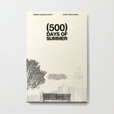 (500) Days of Summer Metal Print