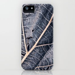 Organic Winter Decay iPhone Case