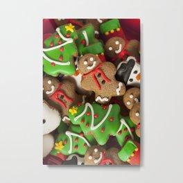 Christmas Cookies Metal Print
