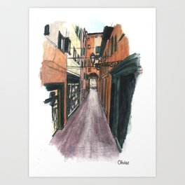 Bologne Art Print