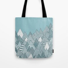 Winterly Forest Tote Bag