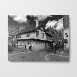 Kings arms. The pub that floods. Metal Print