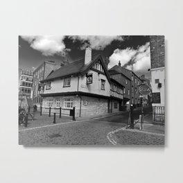 Kings arms. The pub that floods. Metal Print