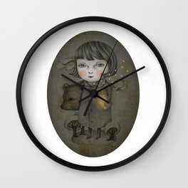 Come Night Wall Clock