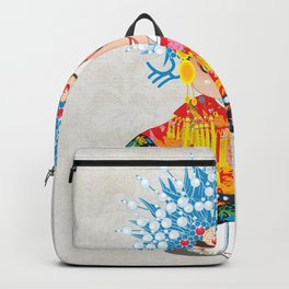Beijing Opera Character SunShangXiang Backpack